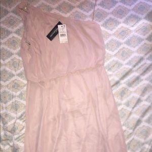 A brand new pink gown dress